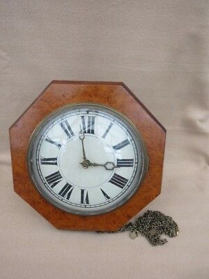 Antique German Black Forest Postman's Alarm Clock For Tlc