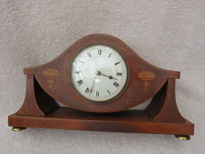 Antique French 8 Day Mahogany Cased Bayard Mantel Clock