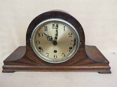 Vintage Haller 8 Day Westminster Whittington Chime Mantel Clock For Spares Or Re