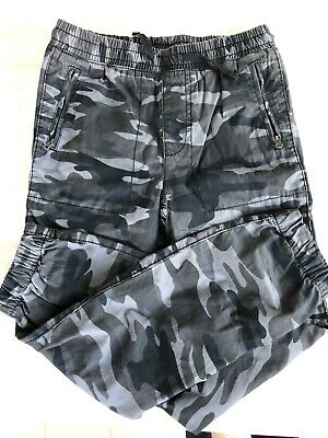 Gap Boys Long Trousers BNWT XL Grey/black Camo Size 12-13. RRP £19.99
