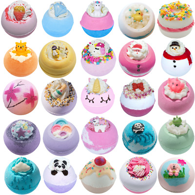 Bomb Cosmetic Bath Bombs 160g New Wrapped Pay only 1 low P & P Natural
