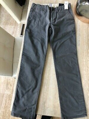 Gap Boys Long Trousers. Grey Chinos Age 12. BNWT. RRP £22.99