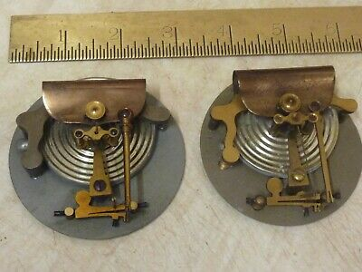 """2 Good  2 3/4"""" Aneroid Barometer Movements- Working Fine  (2S) Free Post"""