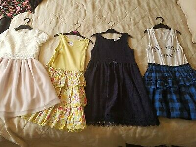 girls clothes dresses  bundle next h&m age 6 yrs and 6/7 year .