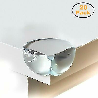 Calish Safety Corner Protectors for Kids (20pcs - Large - Clear), Table Edge