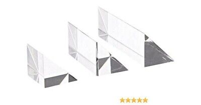 United scientific PAR123 clear acrylic right angle prism set.