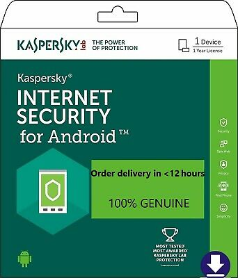 Antivirus ANDROID Kaspersky Total Security 2019 1 user, 1 year, DIRECTLY FROM KA