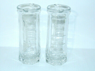 St Germain Le MINI Cocktail Carafe Mixer Glass Pitcher Lot of 2