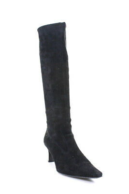 Peter Kaiser Brown Suede Pull On Knee High Boots UK7 | eBay