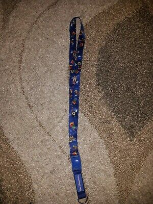Disney Parks Pin Lanyard Walt Disney World Mickey and Friends Storybook 2011
