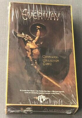 Everway Collector Cards 1995 FPG Sealed Box 36 packs WOTC Wizards Of The Coast