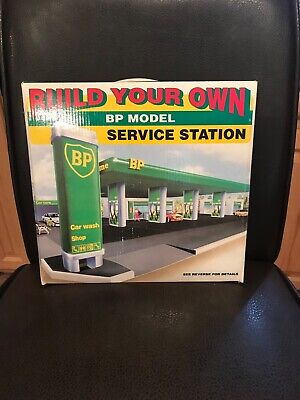 Build Your Own BP Service Station never  Assembled