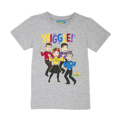 THE WIGGLES Boy/Girl Licensed tee t shirt top New with Tags Free Postage