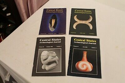 Central States Archaeological Journal - 2005  January, April, July and October