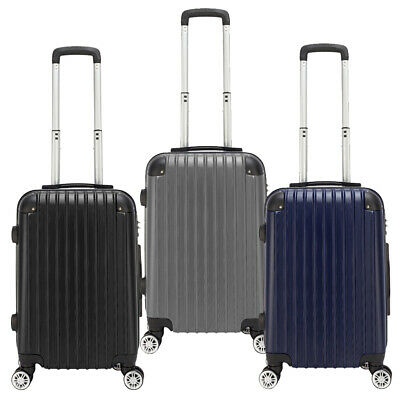20 inch Suitcase Spinner Hard Cabin 4 Wheels Trolley Luggage Travel Bag PC Case