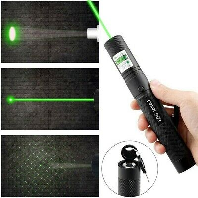 303 Green Laser Pointer Pen Military High Power Battery Powered AU NEW FSS