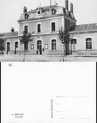 [512087] B/TB|| || - France  - (87) Haute-Vienne, Bellac,Gares - Sans Trains
