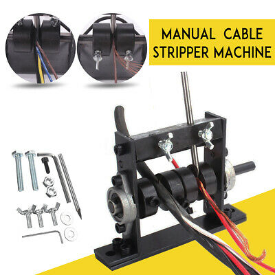 Manual Copper Wire Stripping Machine Cable Scrap Metal Recycle Tool 1-30mm