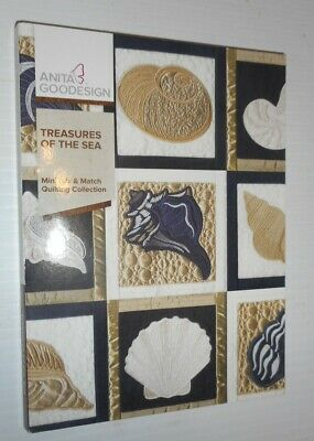 Anita goodesigns Treasures of the Sea Mini Mix & Match Quilting Collection DVD