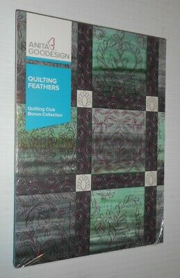 Anita Goodesigns Quilting Feathers Quilting Club Bonus Collection DVD