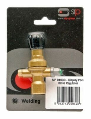 SIP 04030 Brass Regulator for disposable and non disposable bottles Free Post