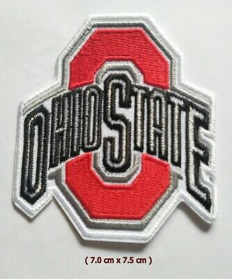 Ohio State Buckeyes  Sport Logo Embroidery Patch Iron and sewing on Clothes;