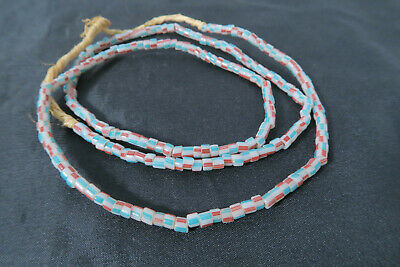 Glasperlen Striped Beads Böhmen Venedig African Trade Beads BE35 Afrozip