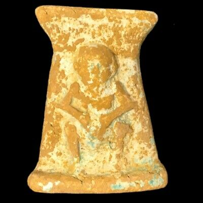 Beautiful Ancient Egyptian God Bes Amulet 300 Bc (22)