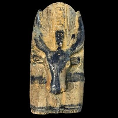 EGYPTIAN STAG STATUE (3) Large Over 19.7 Cm