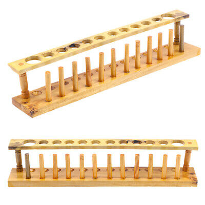 Test Tube Rack Wooden Corrosion-resistant Durable Lab Supplies for Laboratory