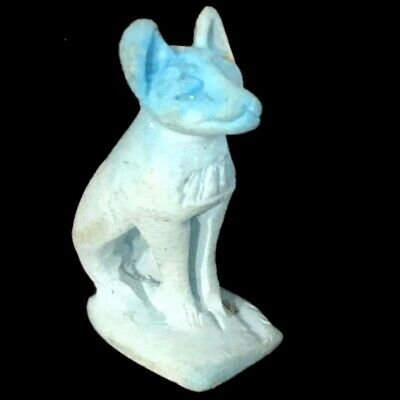 Beautiful Ancient Egyptian Bastet Amulet  (30)