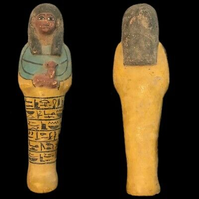 EGYPTIAN HIEROGLYPHIC SHABTI (7) Large Over 18 cm !!!!