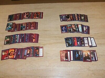 1991 Star Trek 25th Anniversary Impel Cards Complete Set 310 cards