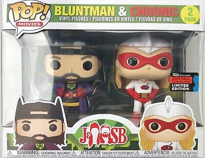 Funko Pop! BLUNTMAN & CHRONIC 2-Pack Set NYCC 2019 Shared Exclusive IN HAND