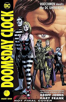 Doomsday Clock Part 1 by Geoff Johns (English) Hardcover Book Free Shipping!