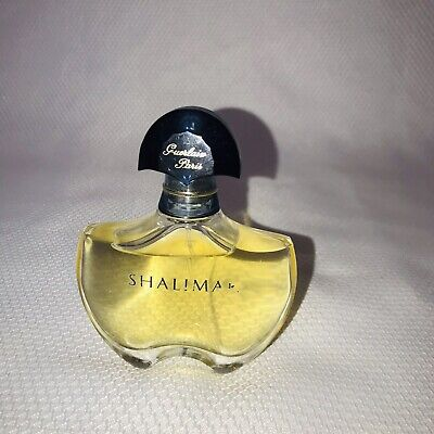 Shalimar Guerlain Paris Eau De Toilette Spray Perfume 1.7 oz 95% Full