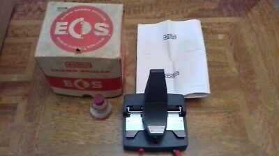 Vintage Eumig Chemo Splicer Boxed with Instructions