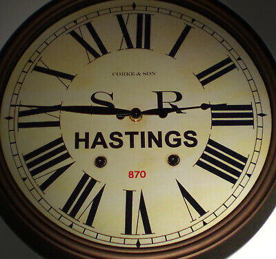 Southern Railway, SR Historic Style Station Clock, Hastings Station