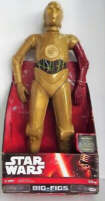 C-3P0 Star Wars Big Figs 18 Inch Figure 2015 Release Force Awakens Droids Disney