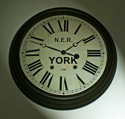 North Eastern Railway NER Victorian Style Clock, York Station