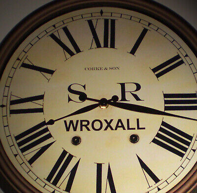 Southern Railway SR Historic Style Station Clock, Wroxall Station