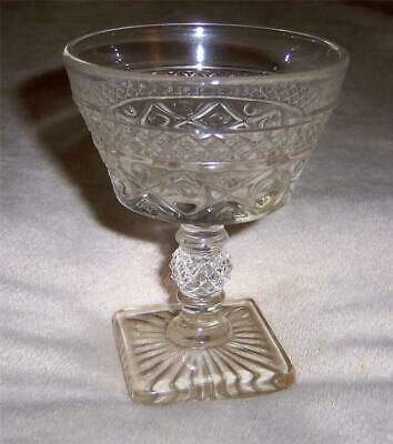 """Imperial CAPE COD 5"""" Footed Tall Champagne Glass Goblet"""