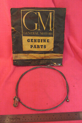 """NOS 1955-59 Chevy Suburban 2nd Series GMC Tailgate End Gate Stop Cable 49 13/64"""""""