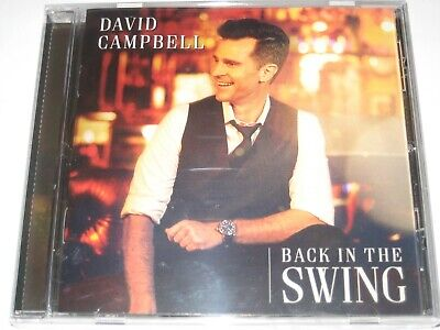 DAVID CAMPBELL back in the swing CD NEW/SEALED