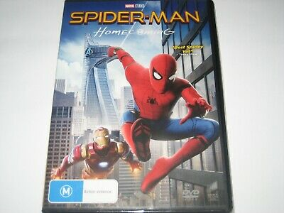 Spider-Man Homecoming Dvd R4 New/Sealed