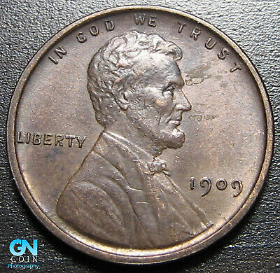 1909 VDB Lincoln Cent Wheat Penny  --  MAKE US AN OFFER!  #P1498