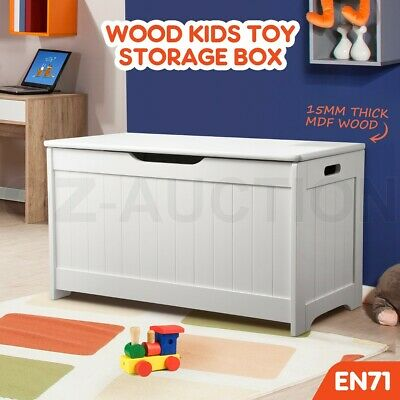 Kidbot Kids Toy Box Container Children Chest Storage Clothes Organiser Cabinet