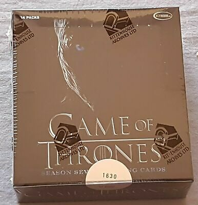 Game Of Thrones Season Seven 7 Trading Cards Box (Rittenhouse 2018) LIMITIERT