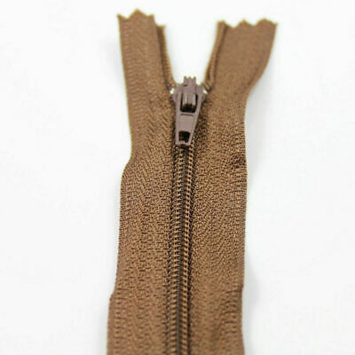 NYLON OPEN ENDED ZIPS for womens lenth 8 inch multy colours(only one zip)