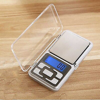 500g*0.1g LCD Digital Electronic Pocket Gram Jewelry Herb Weight Balance Scale